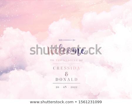 Beautiful vector cloudscape Stock photo © IMaster