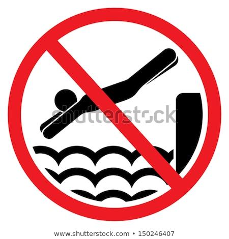No diving, no swimming Stock photo © Hofmeester