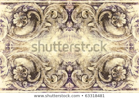 Grunge retro style frame for your projects Stock photo © Lizard