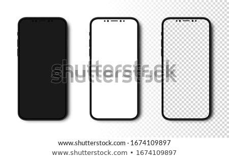 mobile black phone Stock photo © shutswis