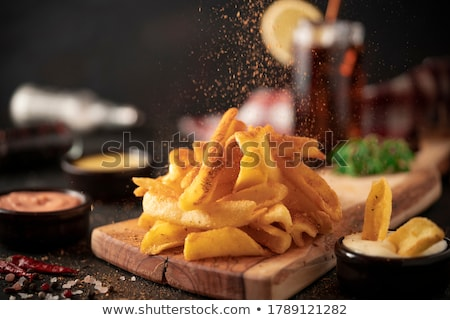 Vegetales patatas picante salsa alimentos Foto stock © Digifoodstock