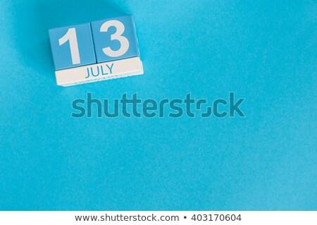 13th july stock photo © oakozhan