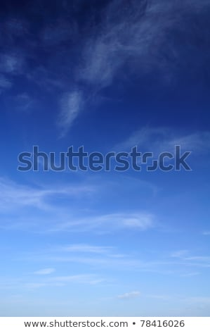 Cloud formation in blue sky. Stock photo © iofoto