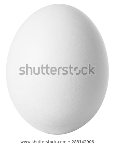 Egg isolated on the white background with Clipping Path.  Stock photo © kayros