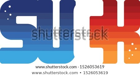 色 カラフル ロゴ ロゴタイプ 言葉 手紙 ストックフォト © vector1st