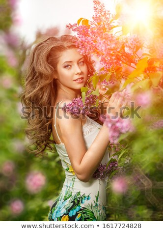 Spring fashion portrait Stock photo © Anna_Om