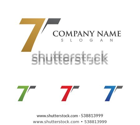 T Letter Faster Logo Template Stock photo © Ggs