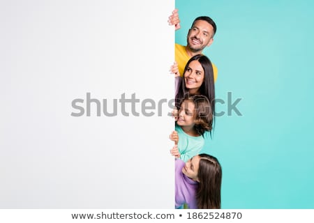 Portre anne küçük öğrenci öğrenci açık Stok fotoğraf © wildman