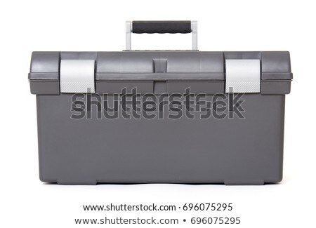 Gray toolbox Stock photo © shutswis