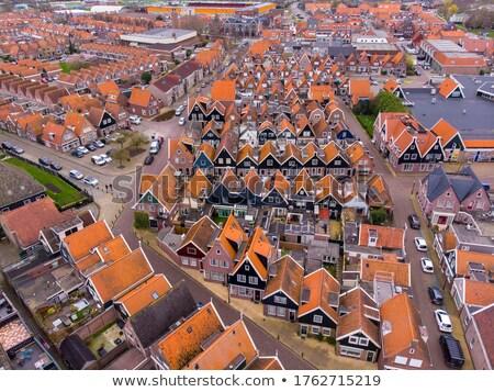 Volendam, Netherlands Stock photo © phbcz