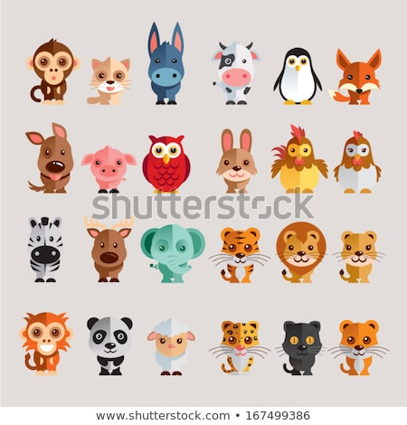 vector icon toy lion stock photo © zzve
