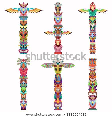 indian totem Stock photo © Hochwander