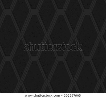 Siyah plastik elmas hat soyut Stok fotoğraf © Zebra-Finch
