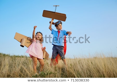 A Girl plays with a Boy Stock photo © IS2