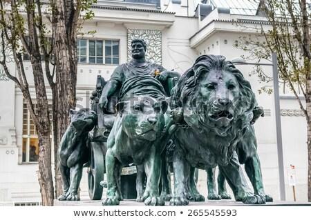 Statue of Marcus Antonius, Vienna Stock photo © borisb17