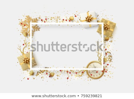 Holiday frame composition Stock photo © Melnyk
