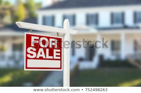 Casa affitto vendita segni vettore simbolo Foto d'archivio © nickylarson974