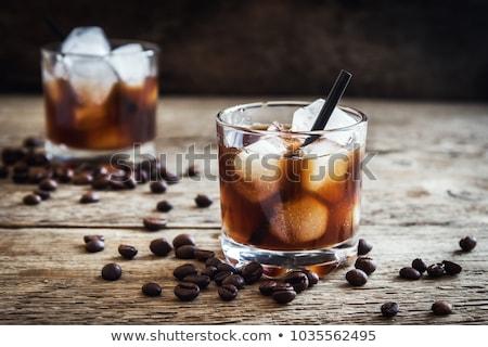 кофе · коктейль · выстрел · очки · темно - Сток-фото © fanfo