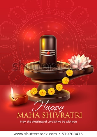 happy maha shivratri festival background design illustration Stock photo © SArts