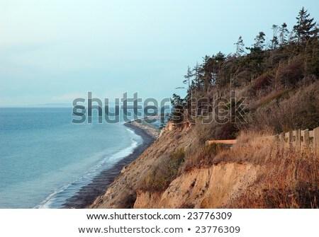表示 霧の ポート 水 風景 海 ストックフォト © bobkeenan