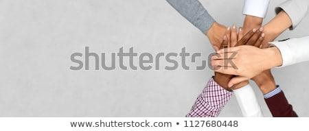 Negócio unidade diversidade mãos grupo Foto stock © Lightsource