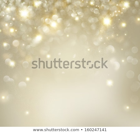 yellow bokeh background with sparking lights design Stock photo © SArts