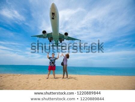 Mai Khao beach. Phuket island, Thailand. Stock photo © moses