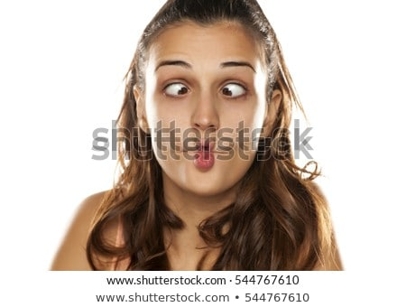 Woman Making SIlly Face Stock photo © piedmontphoto