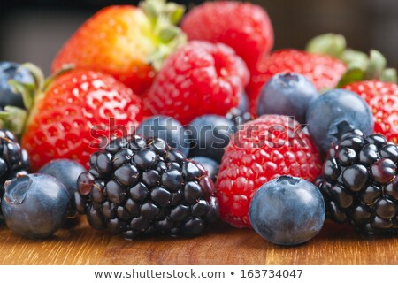 Summer berry selections Stock photo © danielgilbey