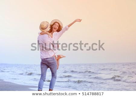 couple by seashore Stock photo © photography33