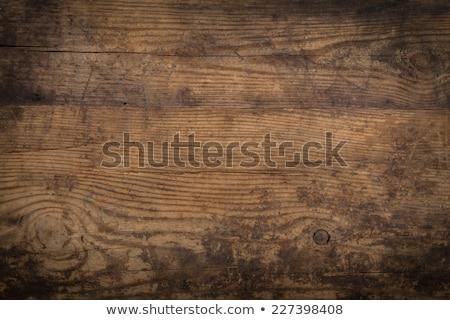 Eski ahşap doku ahşap orman arka plan Metal Stok fotoğraf © inxti