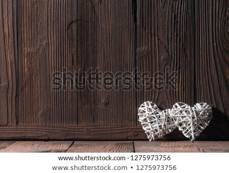 плетеный сердце зеленый любви романтика Сток-фото © wavebreak_media