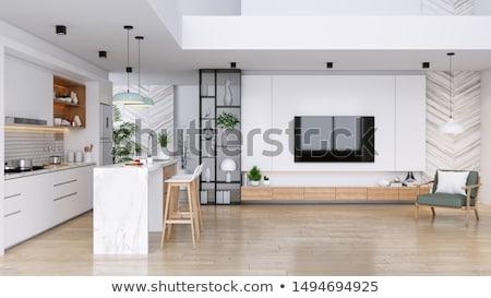 abstract modern interior stock photo © hasloo