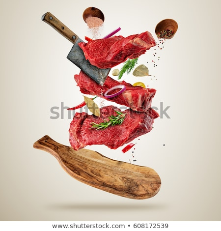 cleaver isolated on a white background Stock photo © bmonteny