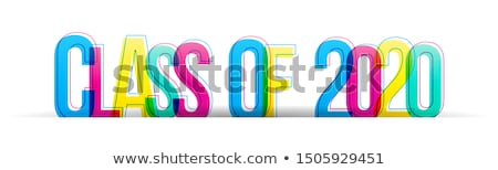 junior wording isolate on white background Stock photo © vinnstock