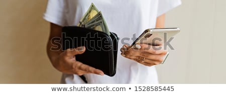 font · pénz · telefon · illusztráció · mobil · mobiltelefon - stock fotó © netkov1