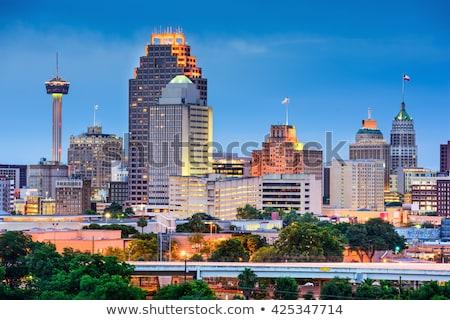 Texas Skyline bâtiment urbaine Photo stock © BrandonSeidel
