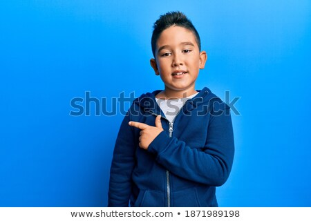Boy looking up to camera Stock photo © IS2