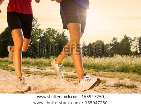 runner · jogger · parco · outdoor · estate - foto d'archivio © lopolo