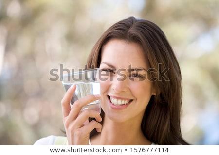 разговор · фото · Smart · женщину · глядя · коллега - Сток-фото © pressmaster