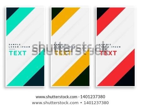 couleurs · différent · crayons · blanche - photo stock © sarts
