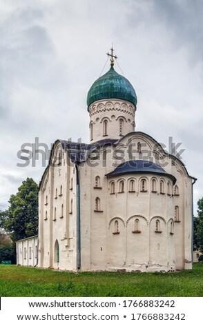 古い · 教会 · ロシア · 市 · 雪 · 冬 - ストックフォト © borisb17