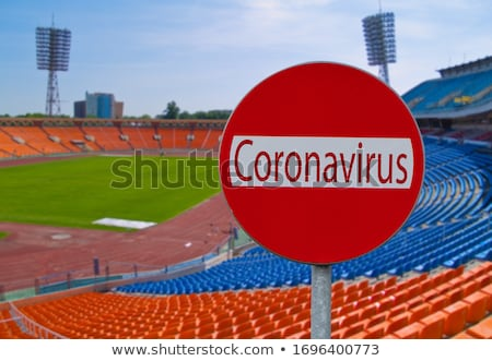 cancellation of sport venues concept Stock photo © neirfy