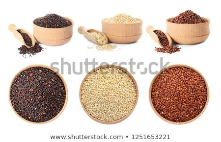 Different kinds of quinoa Stock photo © Alex9500