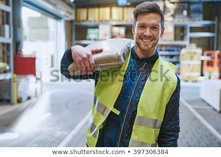 blue collar at his job Stock photo © photography33