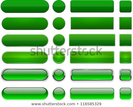 Yeşil düğme Metal beyaz iş teknoloji Stok fotoğraf © Ciklamen