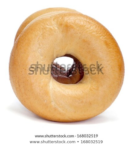 Culinary product Bagels. Isolated on a white background Stock photo © ozaiachin
