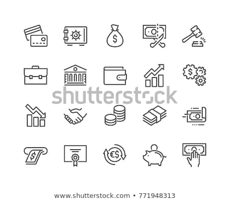 Imposto bar pessoa mapa preto Foto stock © 4designersart