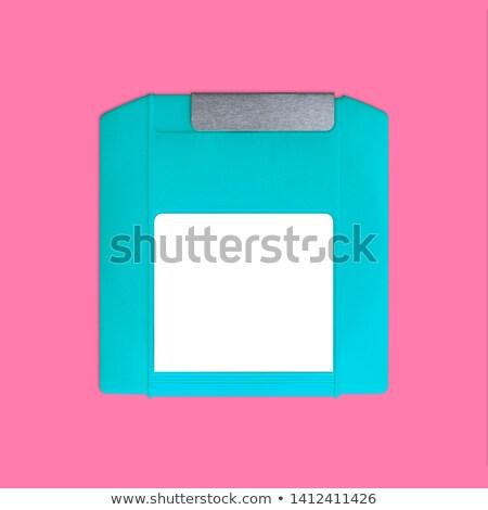 Schijf backup drive geïsoleerd witte Stockfoto © kitch