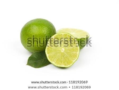Izolált fehér természet zöld szín eszik Stock fotó © natika